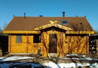 Дом и баня из сруба — построить самому или заказать?